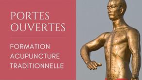 PORTES OUVERTES -FORMATION  ACUPUNCTURE TRADITIONNELLE : Venez vivre un stage avec nous !