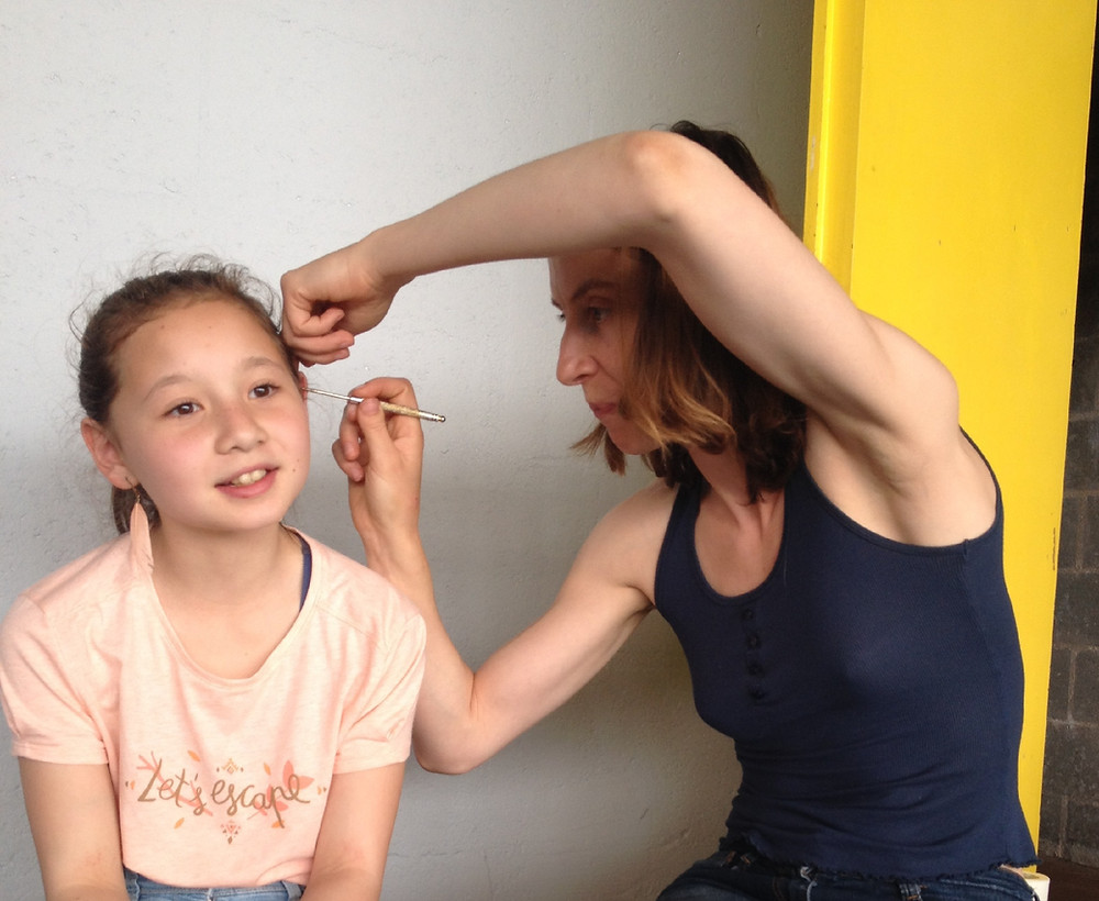 Pratique en conditions réelles après la Formation Auriculothérapie de l'Ecole d'Acupuncture du Pôle de Thérapeutes.