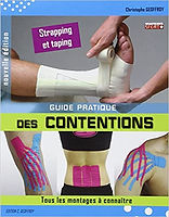 Livre Guide pratique des Contentions Taping et Strapping - Christophe Geoffroy