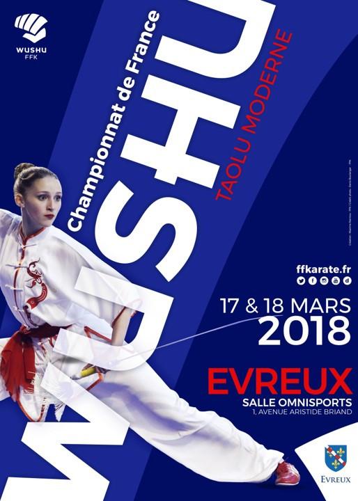 Le Pôle de Thérapeutes aux Championnats de France de Kung Fu 2018 (Tao Lu)