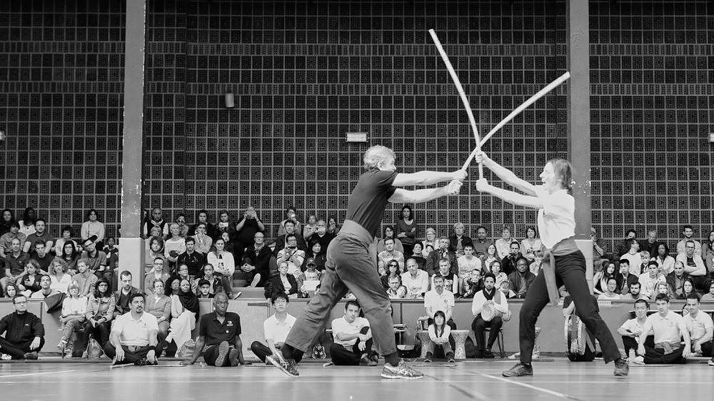L'équipe du Pôle de Thérapeutes au Championnat de France de Tahtib 2017