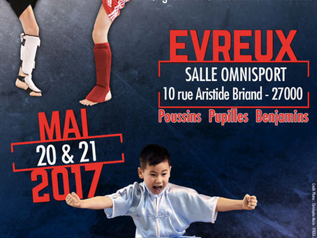 Le Pôle de Thérapeutes sera à la Coupe de France de Wushu