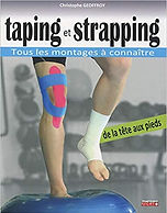 Livre Taping et Strapping - Christophe Geoffroy