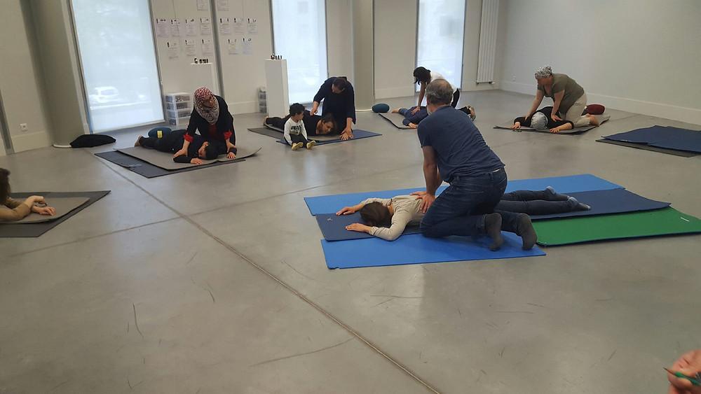 Atelier massages bien-être du Pôle de Thérapeutes : 7 - 8 octobre 2017