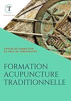 BROCHURE DE LA FORMATION ACUPUNCTURE TRADITIONNELLE