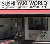 Sushi Yaki World restaurant japonais Elbeuf partenaire des etudiants de la formation acupuncture du Pole de Therapeutes