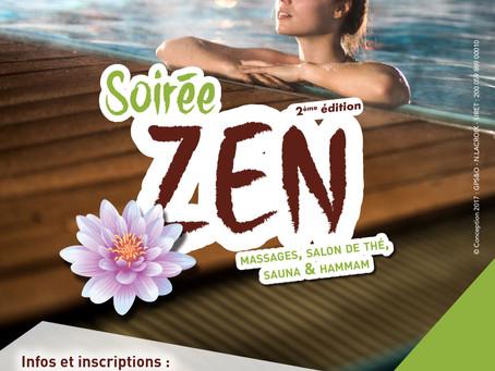 Soirée Zen à la Piscine de Verneuil-sur-Seine