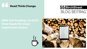 55BS Fall Reading List – für einen gemütlichen Abend mit Tee und Wollsocken auf dem Sofa