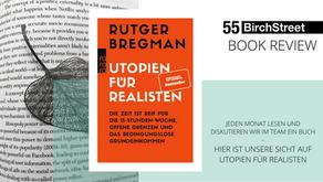 """Book Review - """"Utopien für Realisten"""" von Rutger Bregmann"""