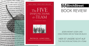 "Book Review - ""The Five Dysfunctions of a Team"" von Patrick Lencioni"