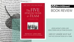 """Book Review - """"The Five Dysfunctions of a Team"""" von Patrick Lencioni"""
