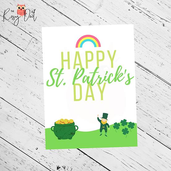 St. Patrick's Day Print | Digital Download | Seasonal Digital Print