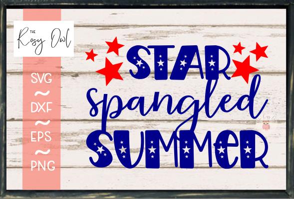 Star Spangled Summer SVG PNG DXF EPS