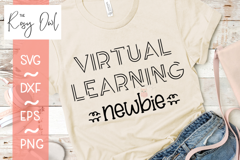 Virtual Learning Newbie SVG PNG DXF EPS
