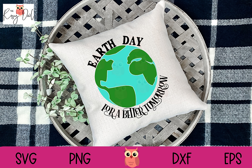 Earth Day SVG   A Better Tomorrow SVG   Globe SVG