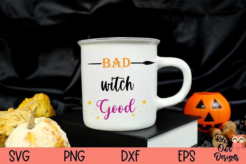 Funny Witch SVG | Coffee Mug Design | Halloween SVG