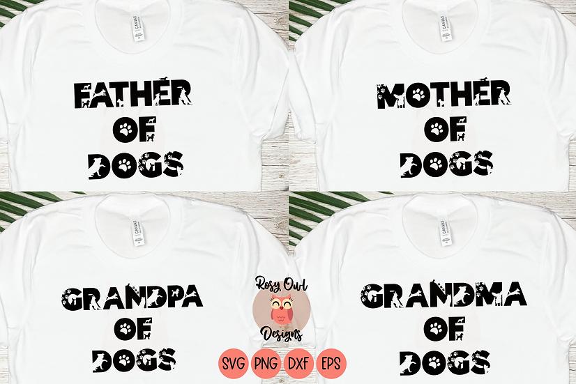 Dog Lovers SVG Bundle | Dog Family SVG