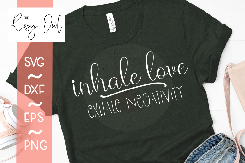 Inhale Exhale SVG PNG DXF EPS