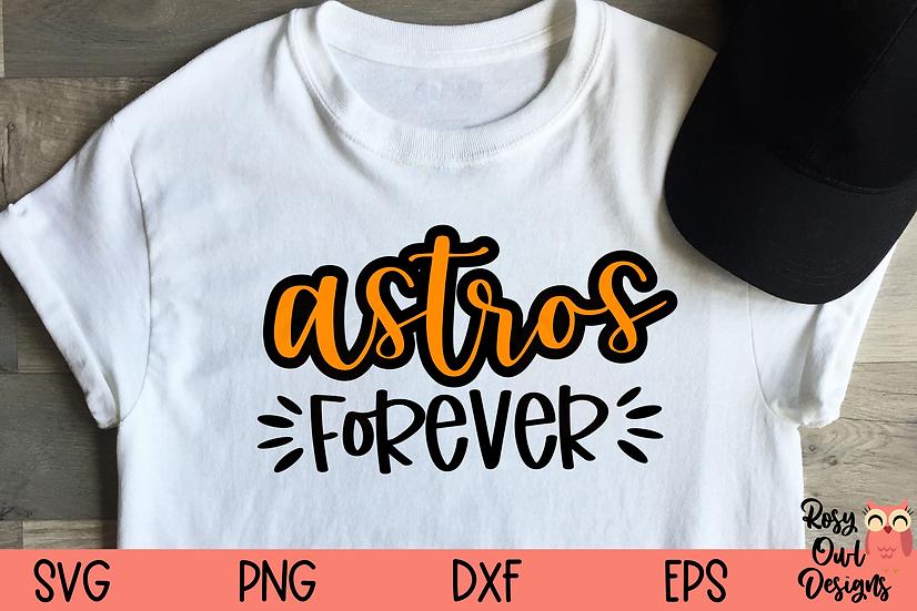 Astros Forever SVG | Baseball SVG