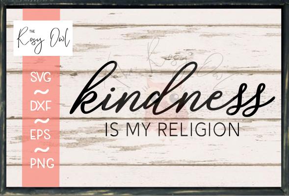 Kindness/Religion SVG PNG DXF EPS