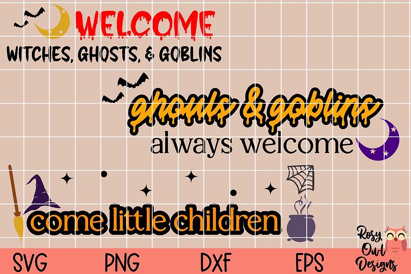 Halloween SVG Bundle | Signs | Doormats SVGs