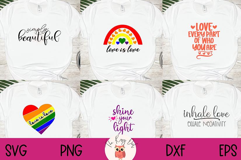 Pride | Empowerment SVG Bundle