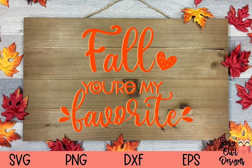 Fall   My Favorite SVG