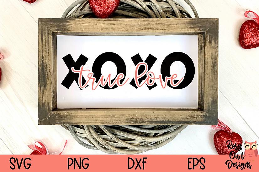 XOXO True Love SVG | Valentine SVG