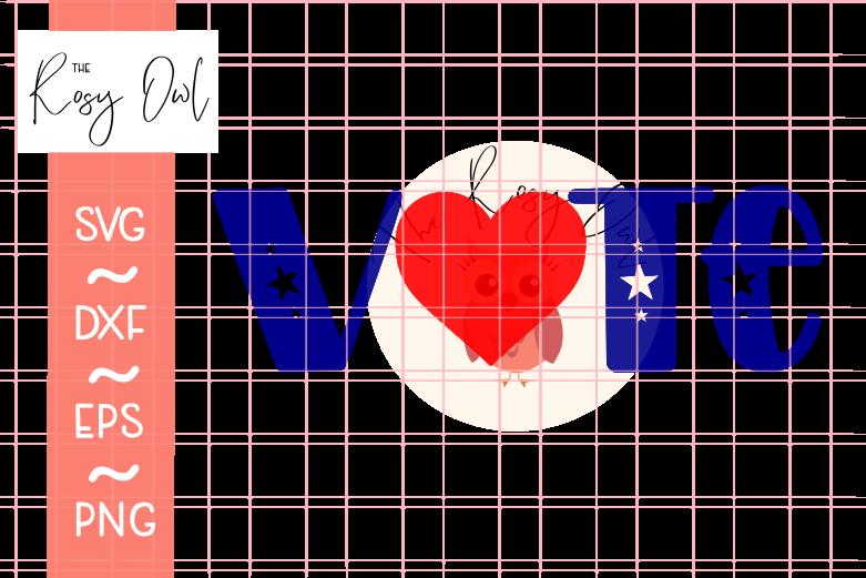 V❤TE SVG PNG DXF EPS