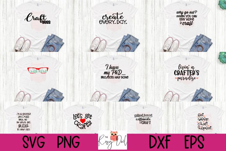 Crafter's SVG Bundle