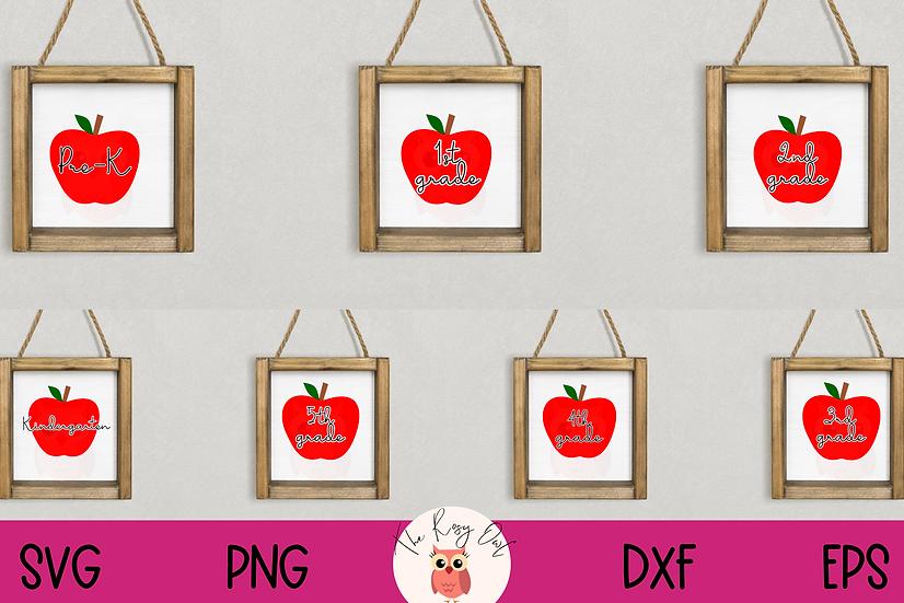 Elementary Grades SVG Bundle | School SVG Bundle