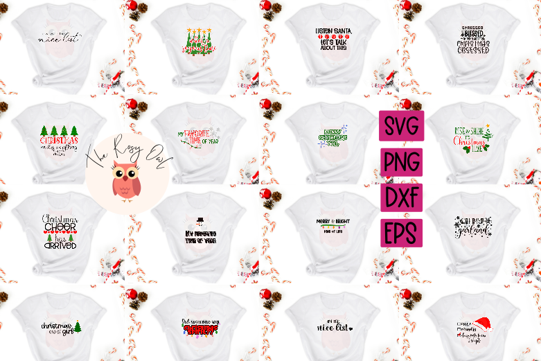 Big Christmas SVG Bundle