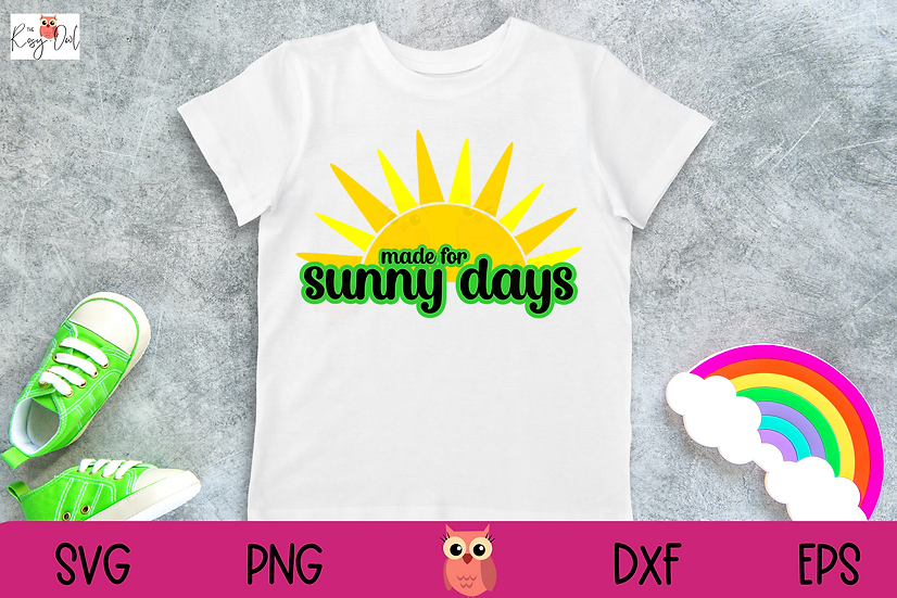 Sunny Days SVG   Summer SVG
