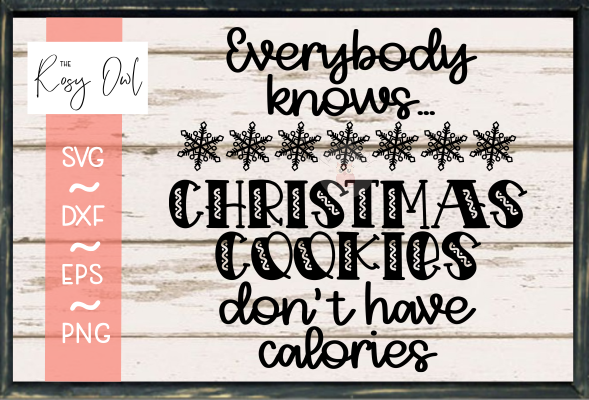 Christmas Cookies SVG PNG DXF EPS