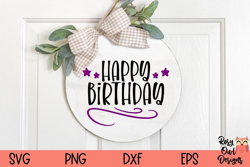 Happy Birthday SVG | Celebration SVG | Birthday SVG