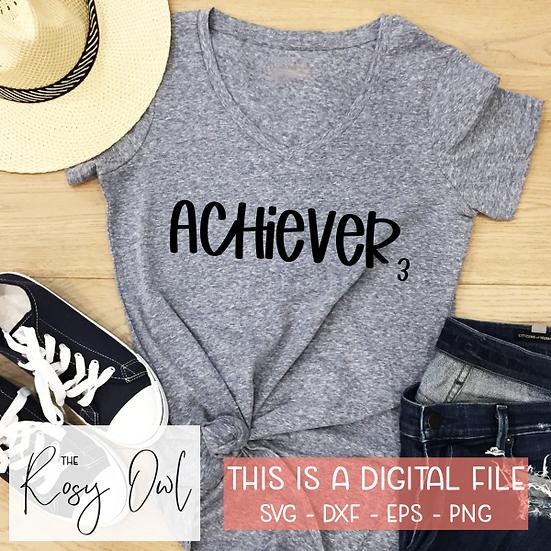 Enneagram 3 Achiever SVG PNG DXF EPS