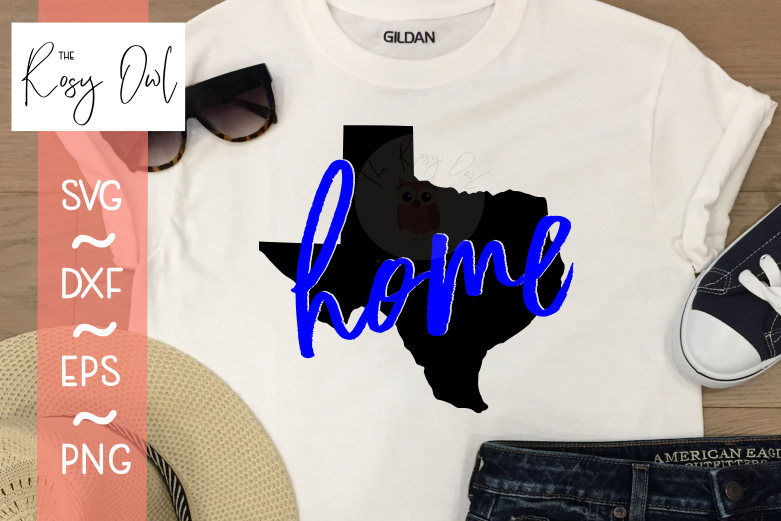 Texas Home SVG PNG DXF EPS