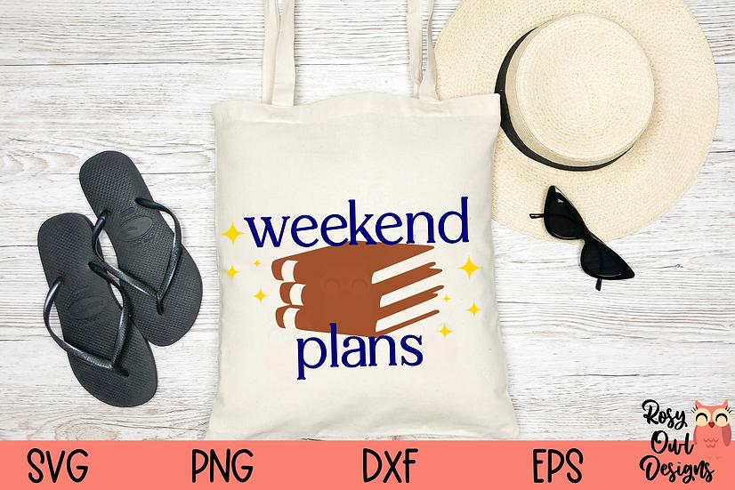 Weekend Plans SVG   Reader SVG   Book Worm SVG
