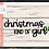 Thumbnail: Christmas Kind of Girl SVG PNG DXF EPS
