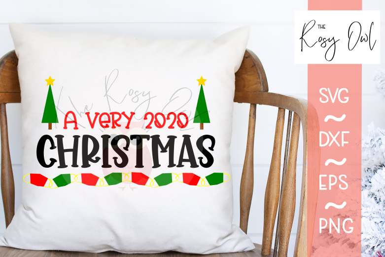 Very 2020 Christmas SVG PNG DXF EPS