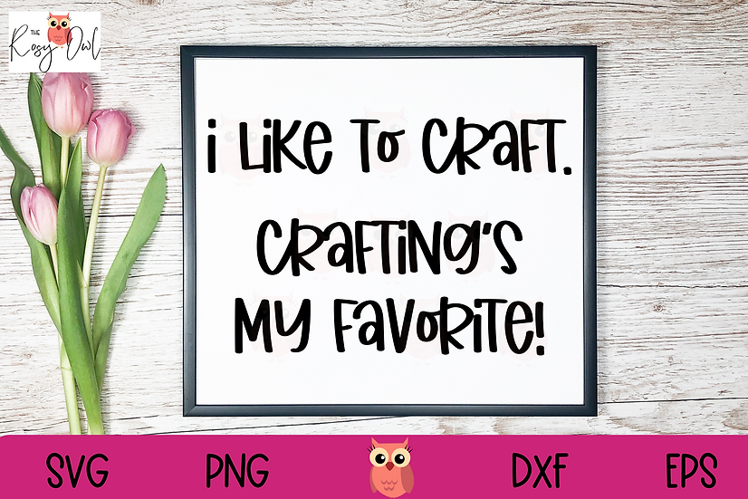Crafting's my Favorite SVG | Crafter SVG