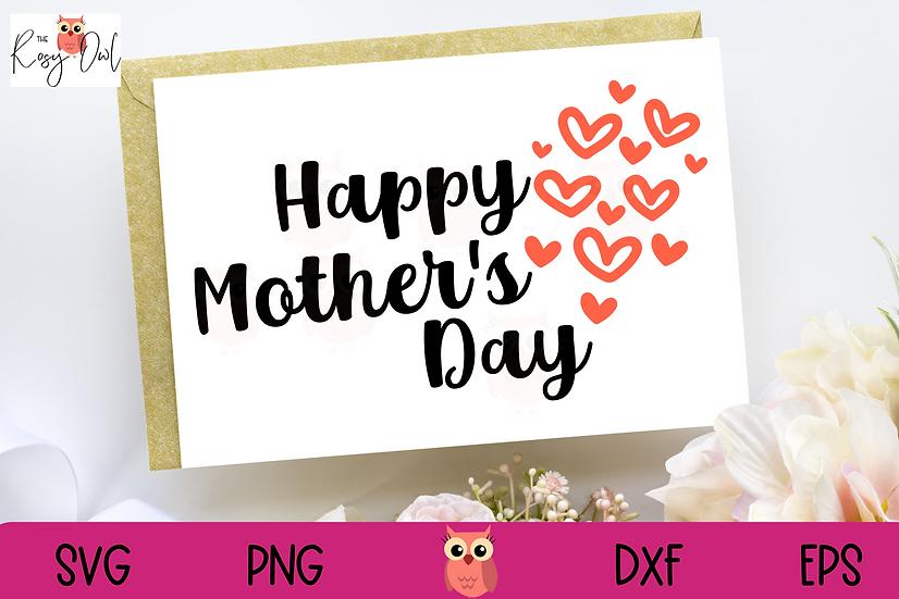 Happy Mother's Day SVG | Mom SVG | Mother SVG
