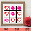 Thumbnail: Kiss Tic Tac Toe SVG   Lips SVG   Valentine SVG