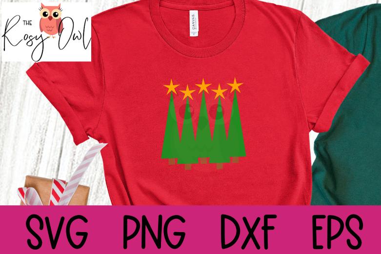 Christmas Trees SVG