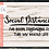 Thumbnail: Social Distancing-my Whole Life SVG PNG DXF EPS