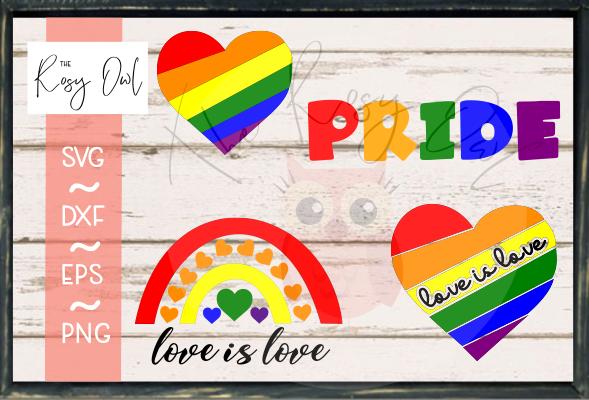 Pride Bundle SVG PNG DXF EPS
