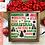 Thumbnail: Christmas Subway Art SVG PNG DXF EPS
