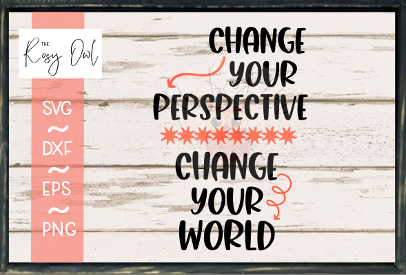 Change Your Perspective/World SVG PNG DXF EPS