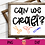 Thumbnail: Can We Craft SVG | Crafter SVG