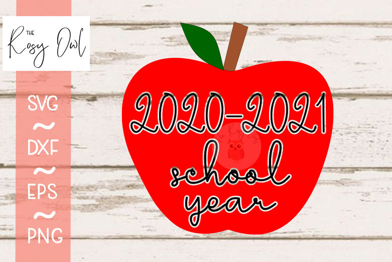 2020-2021 School Year SVG PNG DXF EPS